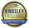 Kingsley 2020 award badge